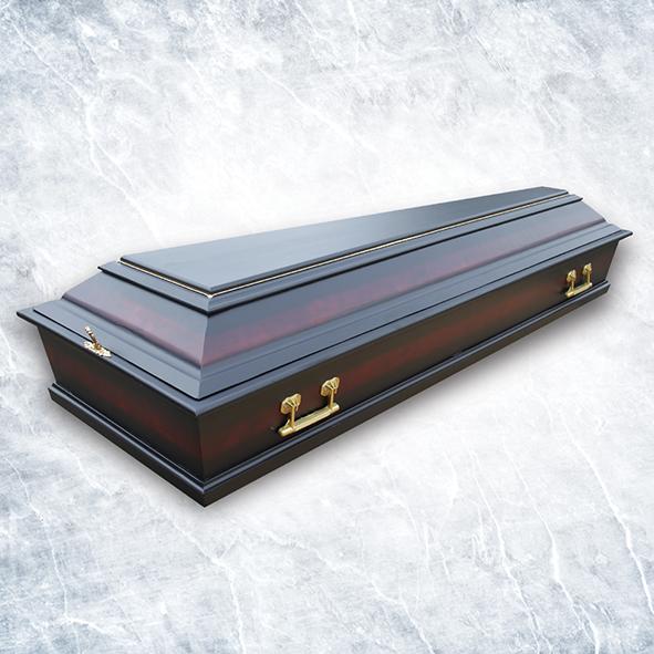 Гроб Б4 сосна темный